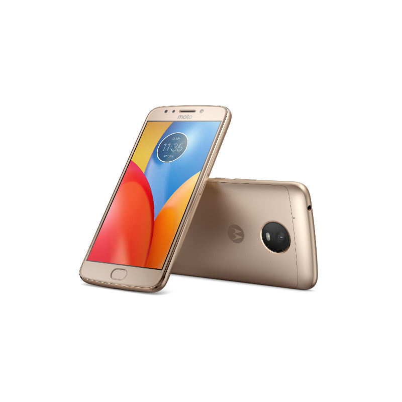 "Motorola Moto E Plus Dual SIM/5,5"" IPS/1280x720/Quad-Core/1,3GHz/3GB/16GB/13Mpx/LTE/Android 7.1.1/Fine Gold"