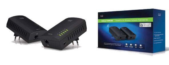 Linksys Powerline Wireless Network Extender Kit