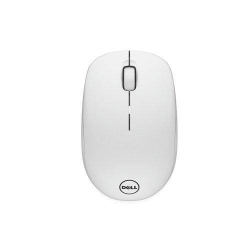 Dell myš, bezdrátová WM126 k notebooku, bílá