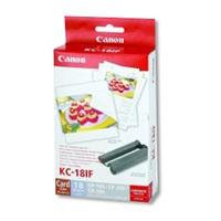 Canon KC18IF nálepka 54x86 18ks do termosublimační tiskárny