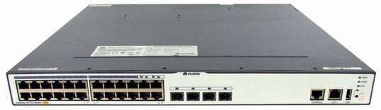 Huawei S5700-24TP-PWR-SI Mainframe(24 10/100/1000Base-T,4 100/1000Base-X Combo,PoE+