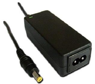 oem AC adaptér pro notebooky ACER, 40W, 2-PIN, konektor 1.7x5.5 žlutý - bez šňůry
