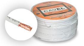 Cavel KF114 - celoměděny koaxiální kabel