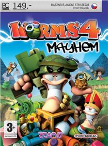TOP CD Worms 4 : Mayhem