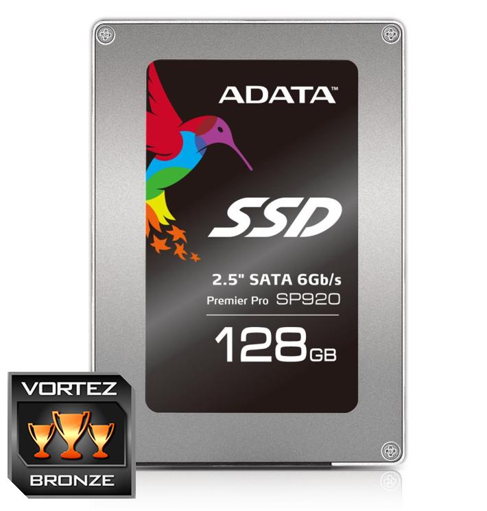 """ADATA SSD SP920 128GB 2.5"""" SATA III 560/180MB/s"""