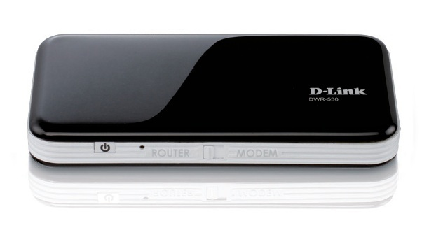 D-Link HSPA+ Mobile Router (modem and router with battery)