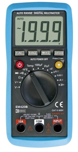 Emos multimetr EM420B, auto range
