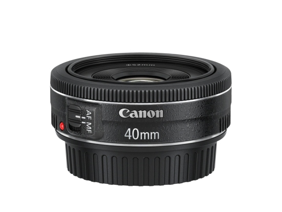 Canon objektiv s pev.ohniskem EF 40 2.8 STM