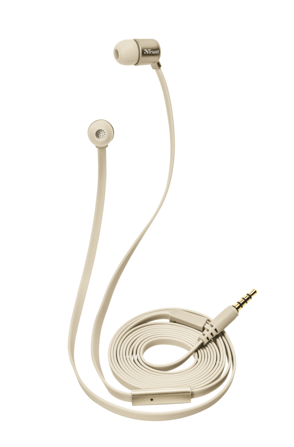 sluchátka do uší TRUST Duga In-Ear- gold