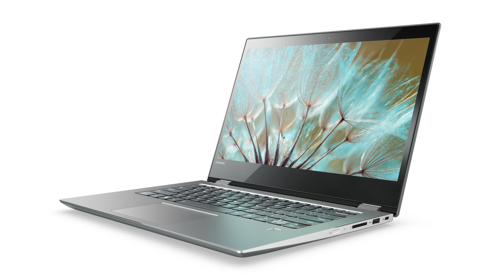 """Lenovo YOGA 520-14IKB i5-7200U 3,10GHz/8GB/SSD 256GB/14"""" FHD/IPS/AG/multitouch/GeForce 2GB/FPR/WIN10 šedá 80X8005FCK"""