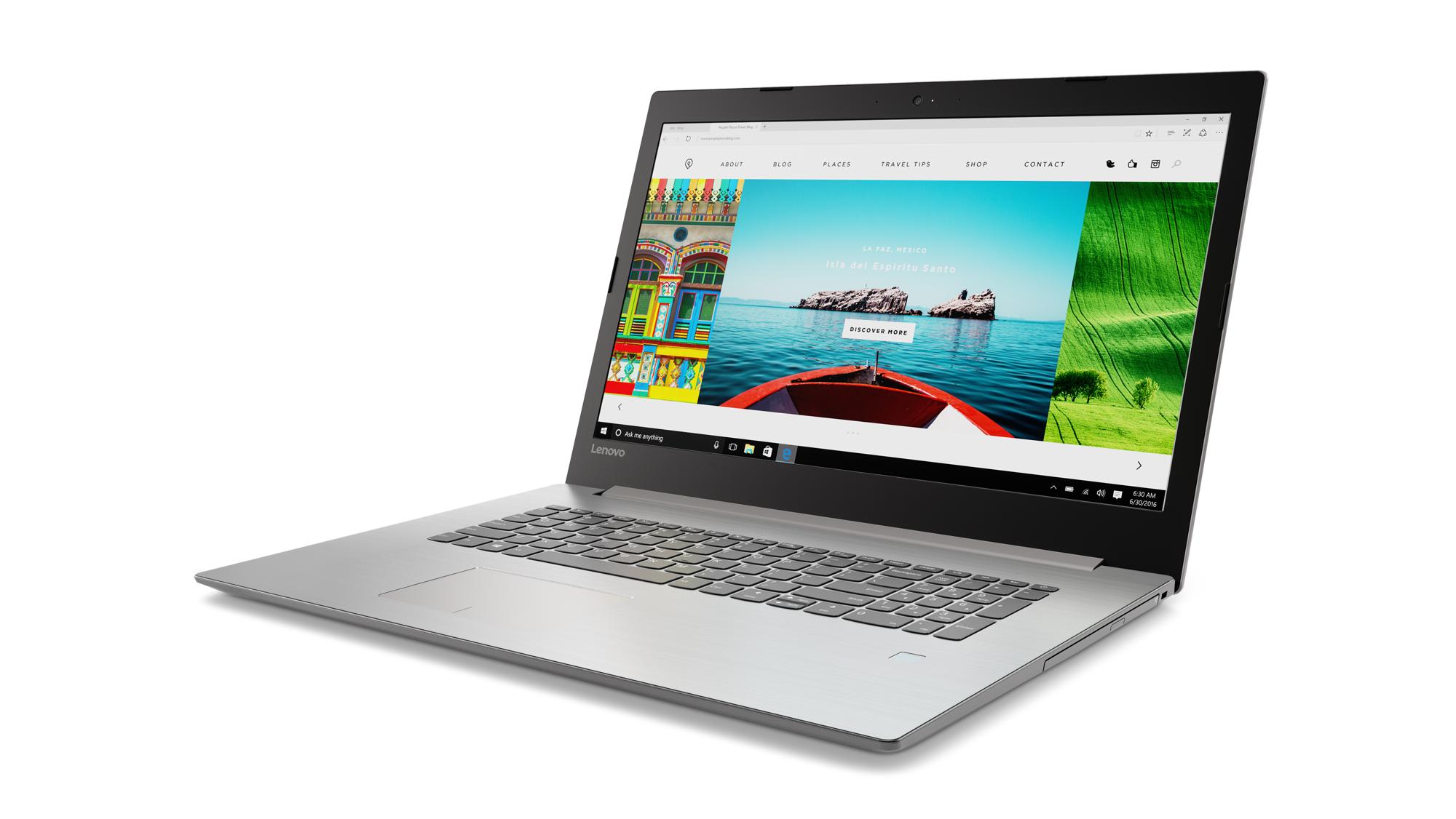 "Lenovo IdeaPad 320-17IKB i5-7200U 3,10GHz/8GB/SSD 128GB+HDD 1TB/17,3"" FHD/IPS/AG/GeForce 4GB/WIN10 šedá 80XM001RCK"