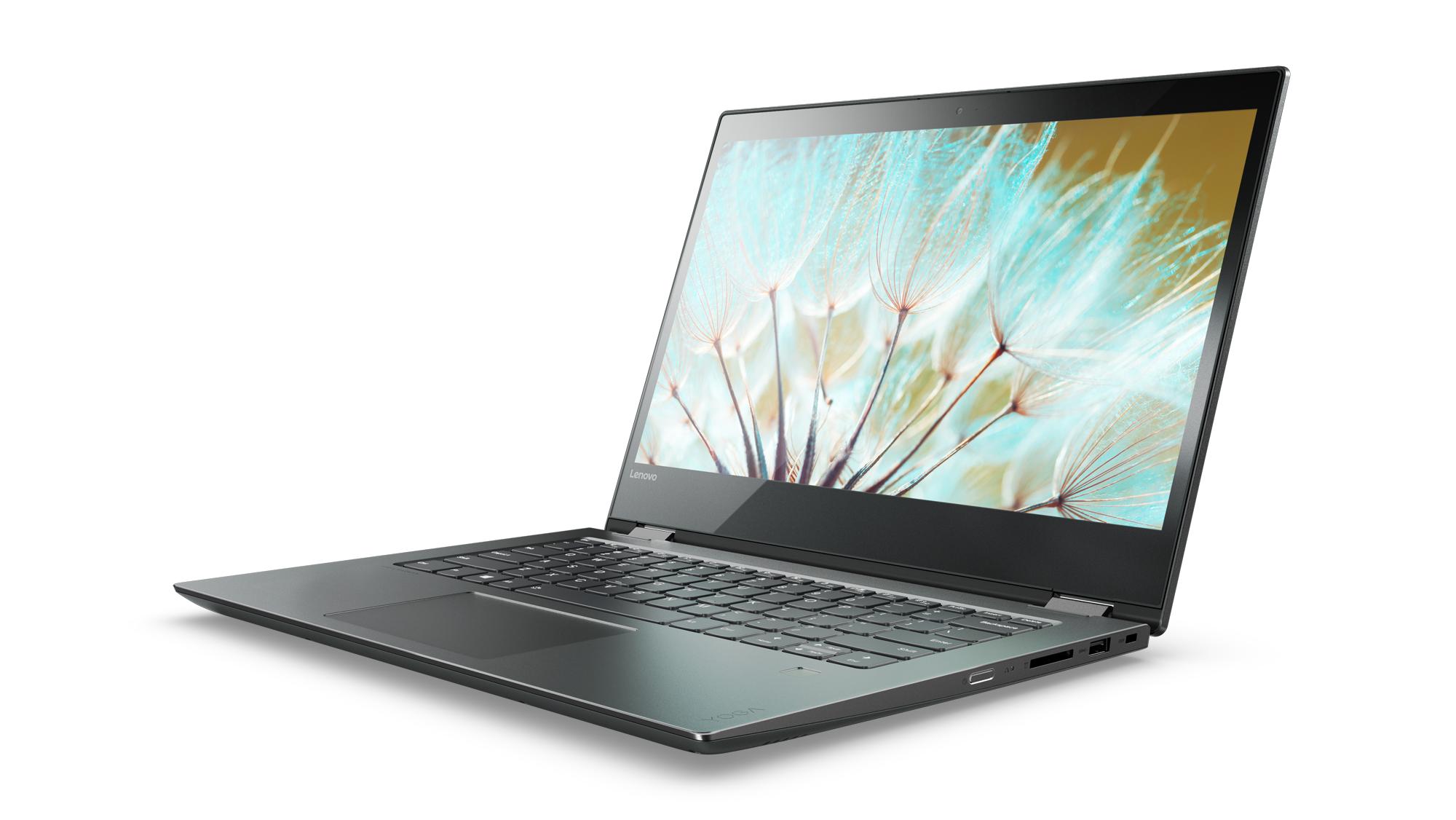 Lenovo IdeaPad YOGA 520-14IKB 14.0 FHD IPS AG T/i7-7500U/8G/1TB+128G/NV2G/W10H/Backlit/Černá
