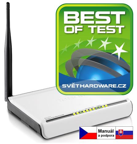 Tenda W311R+ WiFi-N 150 Router,4x LAN, 1x Odn. Ant