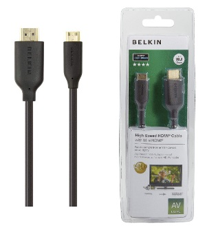 BELKIN HDMI - Mini HDMI kabel Gold, 3m