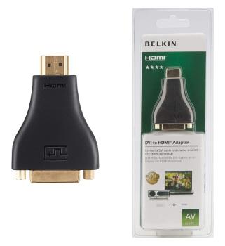 BELKIN DVI - HDMI redukce (F/M) Gold