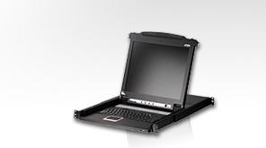 "ATEN KVM switch CL-1008M 8PC KVM 17""LCD"