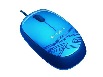 Logitech Počítačová myš M105 modrá