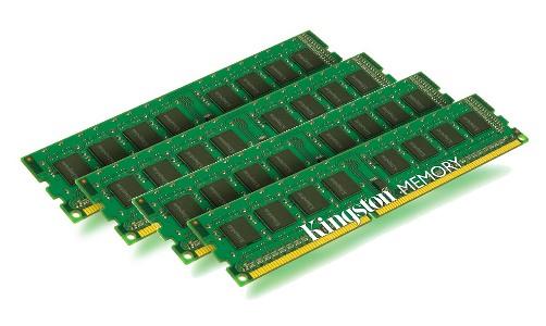 32GB DDR3-1600MHz Kingston ECC CL11 w/TS, 4x8GB