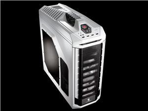 case Cooler Master STORM bigtower STRYKER, ATX, USB3.0, bez zdroje, průhl. bočnice, white