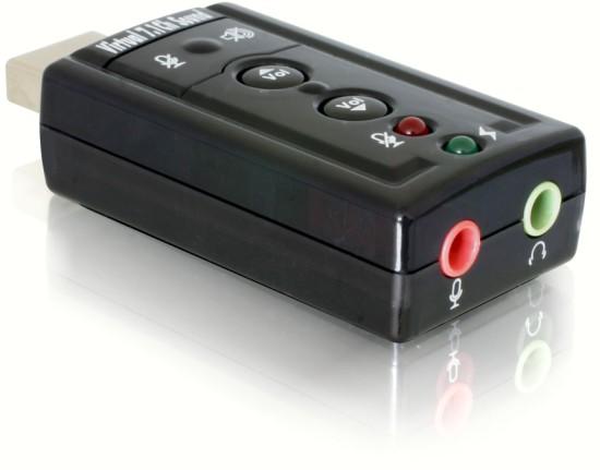 DeLock USB audio adaptér včetně digitálního výstupu SPDIF