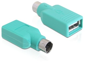 Delock Adaptér USB-A samice > PS/2 samec