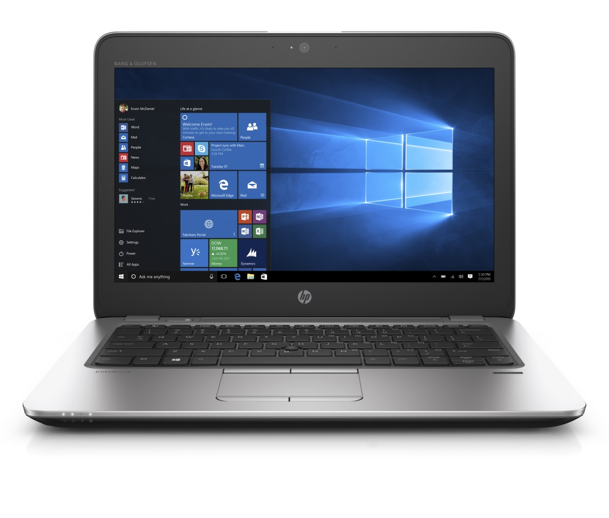 "HP EliteBook 820 G3 i5-6200U/4GB/256GB SSD/12.5"" FHD/backlit keyb /Win 10 Pro downgraded"