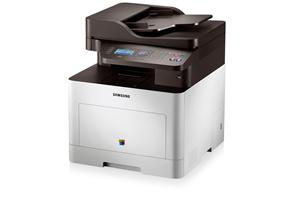 Samsung CLX - 6260FW,A4,24/24ppm,až 9600x600dpi,PCL+PS,256MB,USB,ethernet,wifi,duplex (ADF),fax