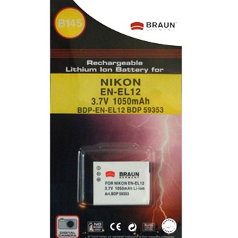 BRAUN akumulátor - NIKON EN-EL12