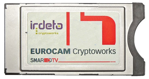 CryptoWorks rozhraní (pro karty Skylink, Gital, ...)