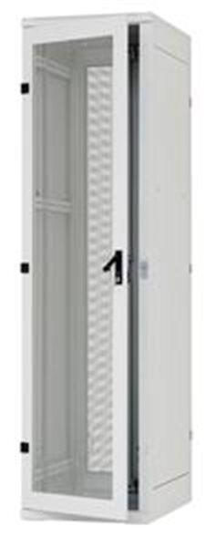 Stojanový rozvaděč 42U (š)600x(h)800 perf.dveře