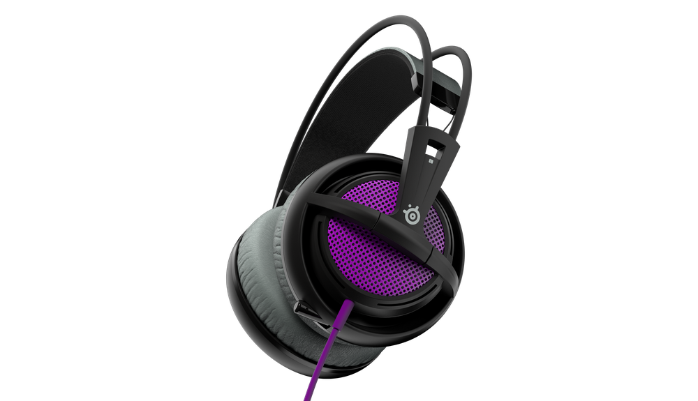 Gaming headset SteelSeries Siberia 200 Sakura Purple