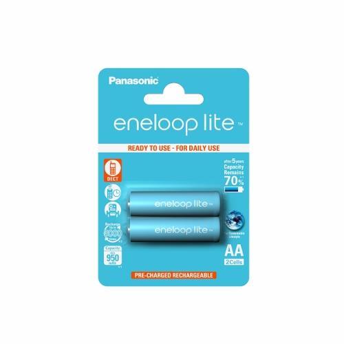 Panasonic Eneloop Lite R6/AA 950mAh, 2 ks, Blister