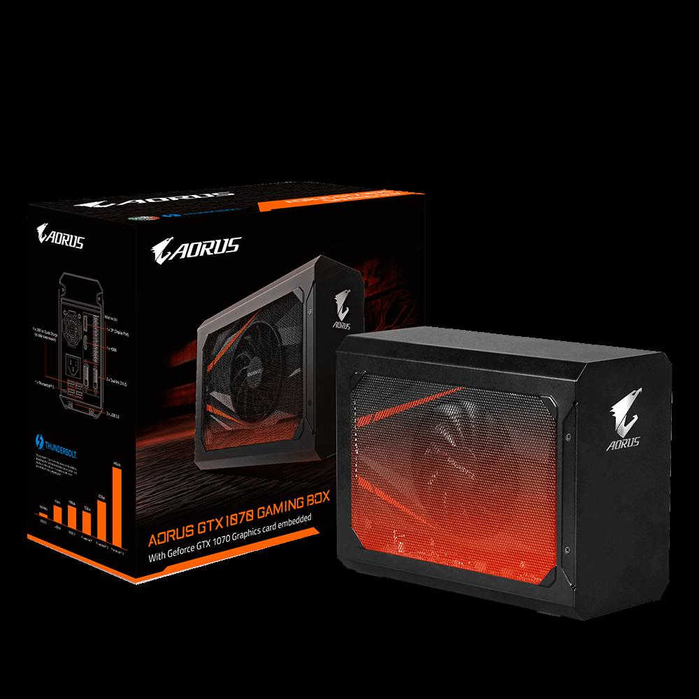 GIGABYTE AORUS GTX 1070 Gaming Box - externí