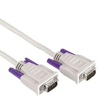 Hama VGA propojovací kabel, 15pin., 1.8m, šedý