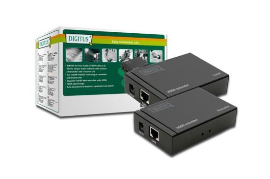 Digitus HDMI extender přes CAT5 až 50 metrů