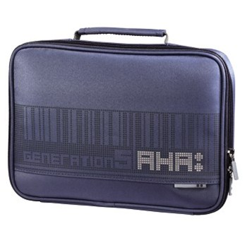 "Hama obal na notebook AHA, 26 cm (10,2""), pixel, ocelově modrá"