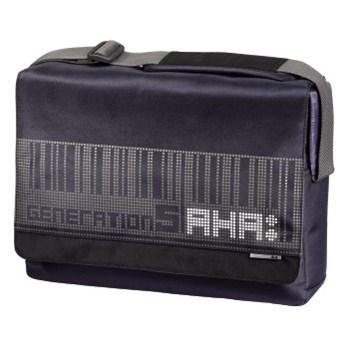 "AHA notebook messenger ""Pixel"", 40 cm (15.6""), grafitově-černá"