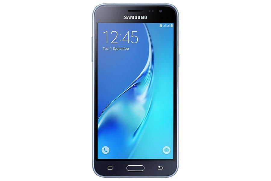 Samsung Galaxy J3, Black, Singel Sim