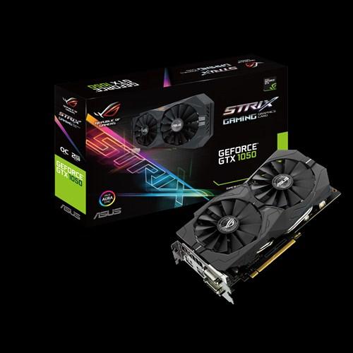 ASUS ROG Strix GeForce GTX 1050 OC, 2GB GDDR5, PCI Express 3.0