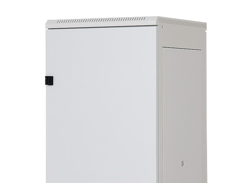 Stojanový rozvaděč 27U (š)600x(h)800 plech.dveře