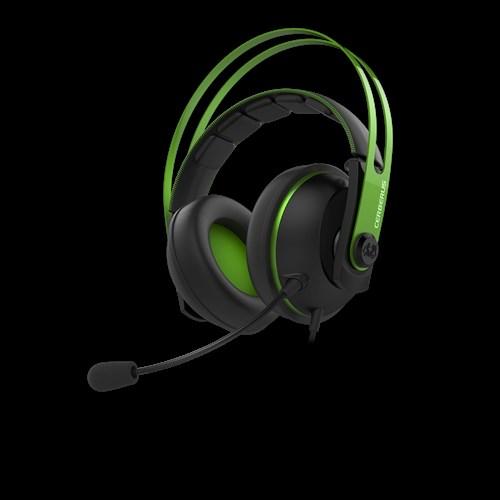 ASUS sluchátka Cerberus V2 gaming headset GREEN