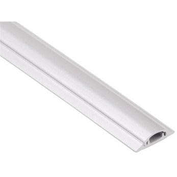 Hama cable Duct, semicircular, 100/9 cm, white