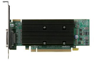 MATROX M9140 512MB , 4xDVI, PCI-Express x16, low profile