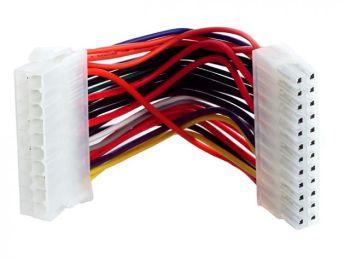 Gembird redukce napájení ATX PSU (20pin) -> BTX MB (24pin) 15cm