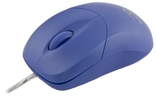 Titanum TM109B AROWANA optická myš, 1000 DPI, USB, blister, modrá