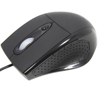 Esperanza EM107L ORION laserová myš, 600/1000 DPI, 5 tlač., USB, černá