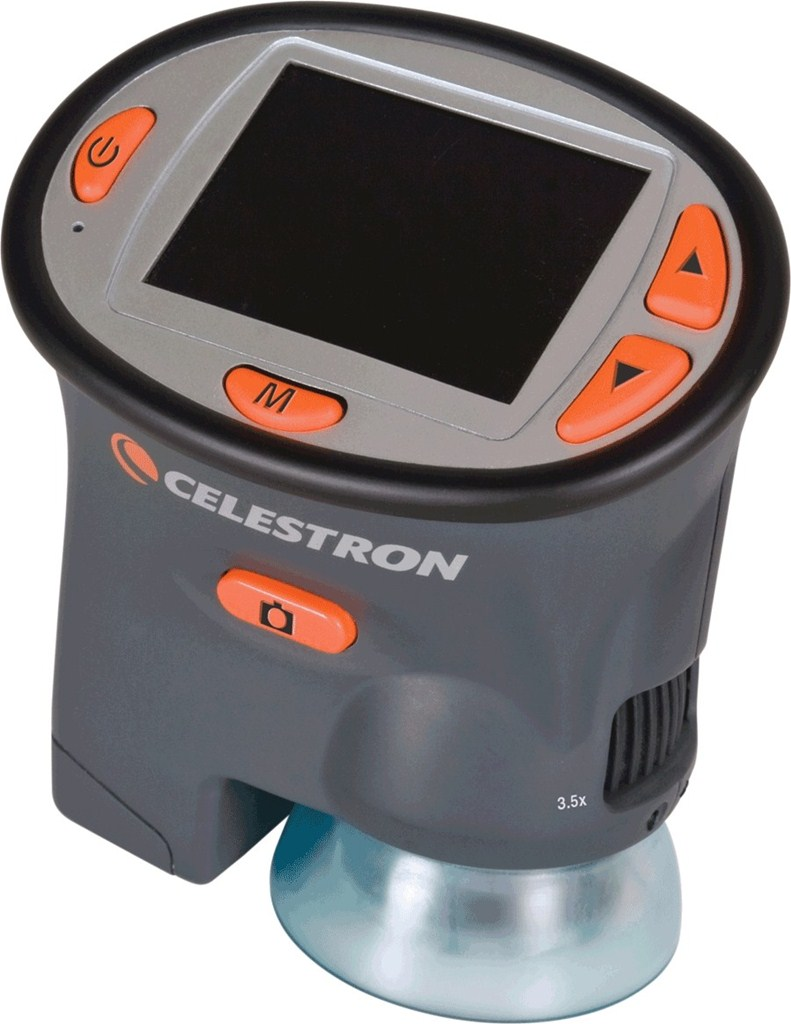 CELESTRON digitální mikroskop s LCD (44310)