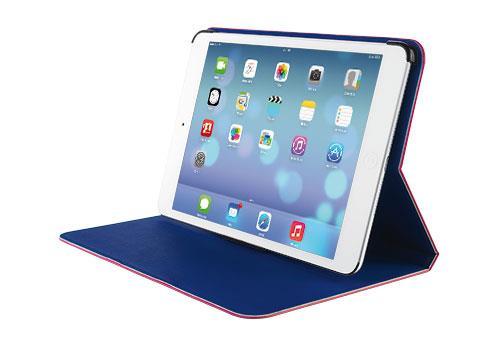 TRUST Pouzdro Aeroo Ultrathin Folio Stand for iPad Air - růžová/modrá
