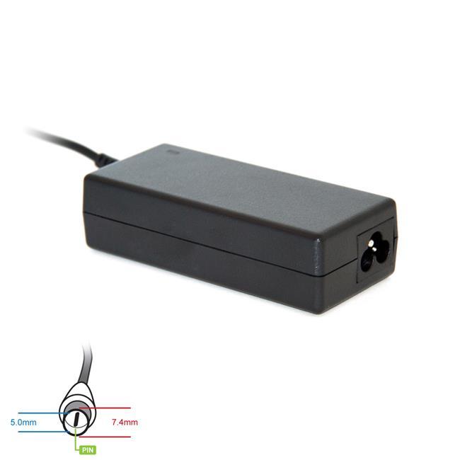Digitalbox napájecí adaptér pro HP Compaq 18.5V/3.5A 65W, (7.4x5.0 + pin)