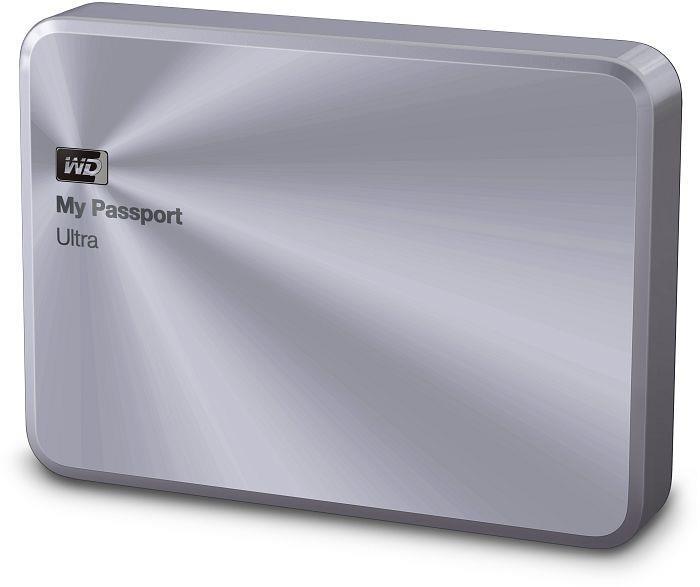 "WD My Passport ULTRA METAL 1TB Ext. 2.5"" USB3.0, Stříbrný"